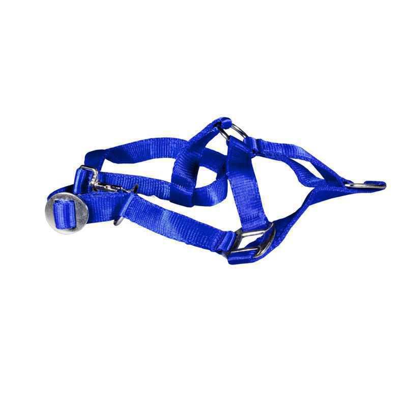 Paardenhalster nylon blauw X-Full (4)