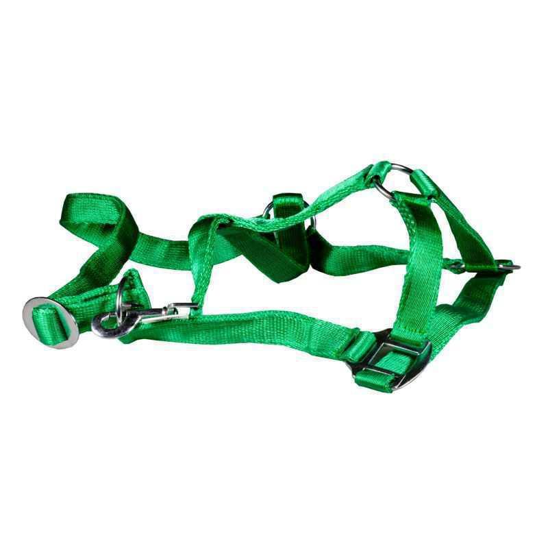 Paardenhalster nylon groen X-Full (4)