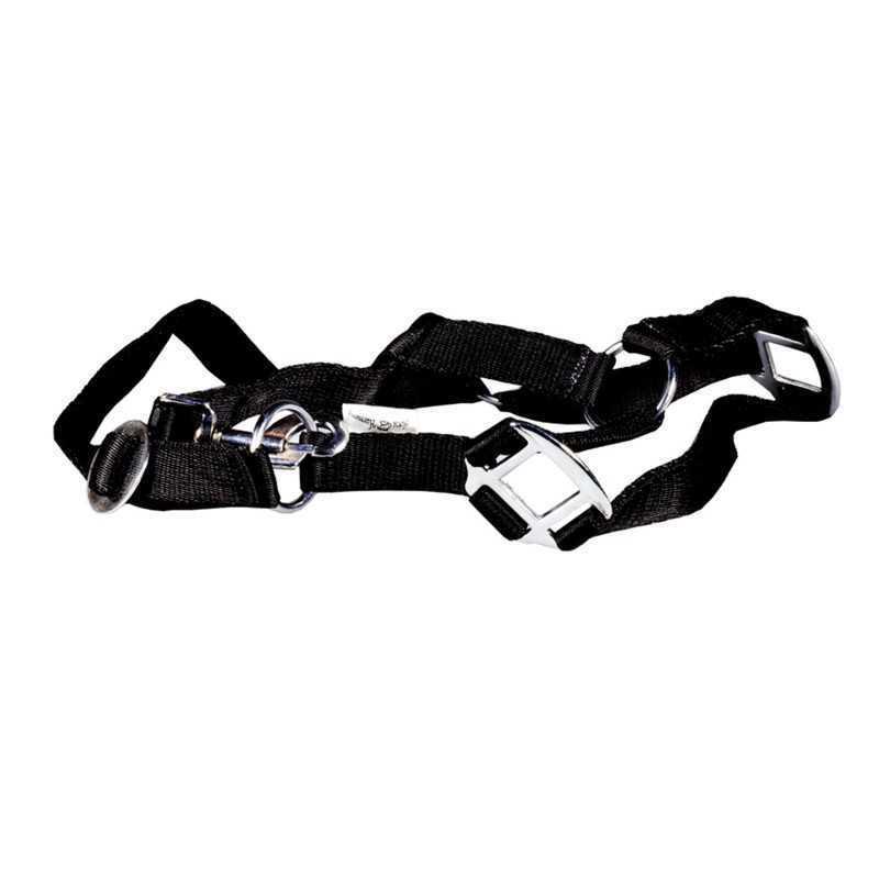 Paardenhalster nylon zwart X-Full (4)