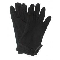 Rijhandschoen Jersey katoen zwart S