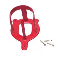 Hoofdstelhanger metaal rood