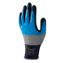 Handschoen SHOWA 376 Multi Fluid Pro zwart/blauw mt L