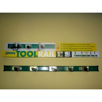Toolrail Jimmy 75 cm met 5 toolclips