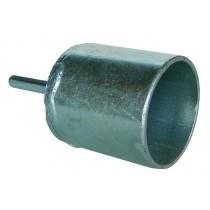 Inschroefhulp voor isolator balvorm