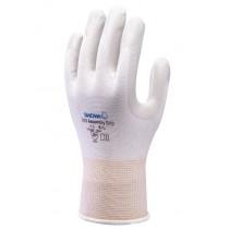 Handschoen SHOWA 370 Assembly grip wit mt S