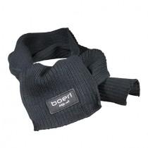 Sjaal zwart 20x140cm  'boer! Mijn vak'
